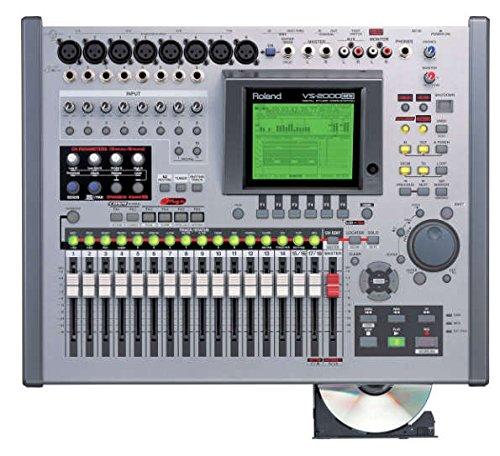 ROLAND 20trレコーダー(8tr同時録音) デジタルMTR VS-2000 内蔵HDD(40GB) / cdドライブ搭載 オリジナル布ダストカバー [プレゼント セット]   B06XRHMJYB