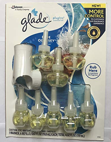 Glade Limited Edition PlugIns Scented Oils Refills 25% More 8 Ct - Blue Odyssey