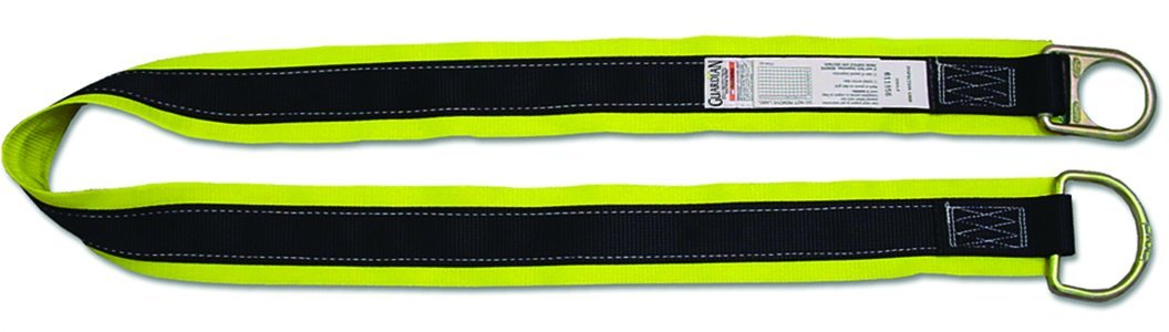 Guardian Fall Protection 10794 Premium 30-Feet X-Arm with Large and Small D-Rings by Guardian Fall Protection