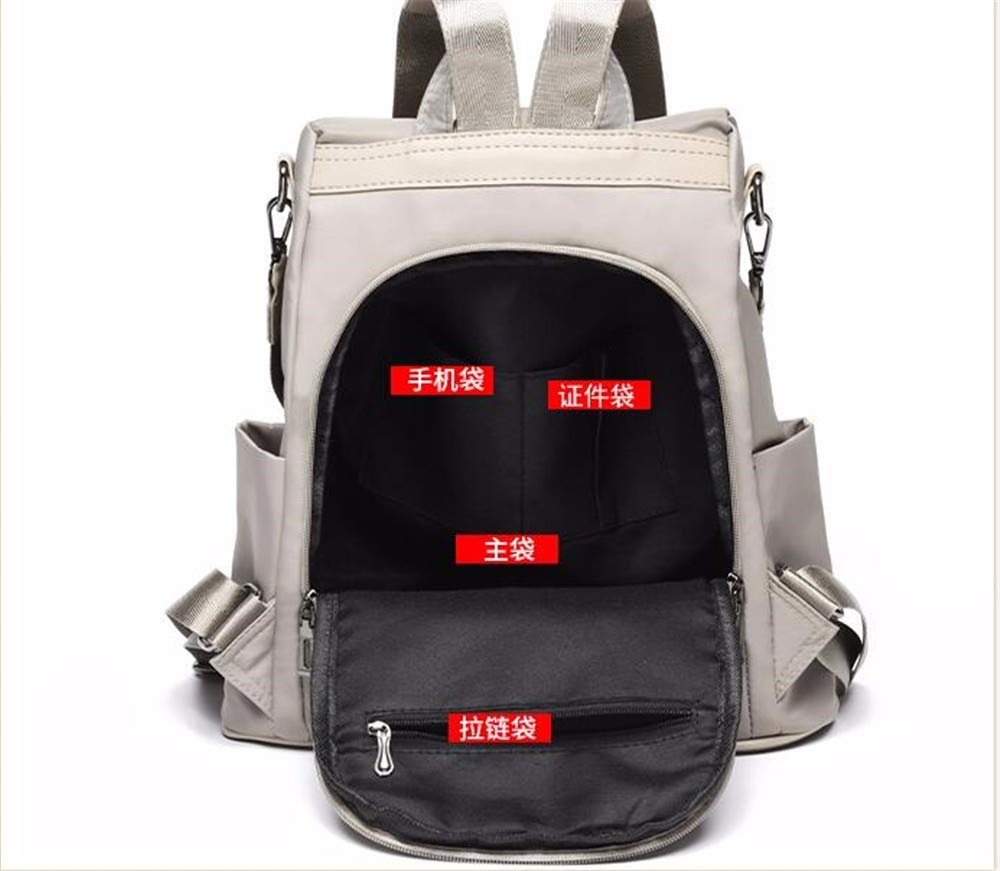 ERSANWU Diebstahlsicherer Rucksack weibliche Tasche Mode Oxford Oxford Oxford Tuch Reiserucksack B07QDLH516 Rucksackhandtaschen Schnäppchen 9b7249