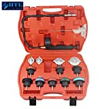 HTL 14PC Car Tool Universal Water Tank Detector Radiator Cooling System Pressure Tester