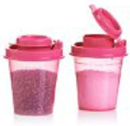 Tupperware Mini Tupper Salt /& Pepper Shakers Midgets Set of 2 New Choose Color