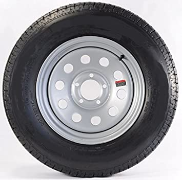 Amazon.com: Rueda de remolque de 5.9 in con ruedas Bias ...