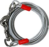 Petmate 1700-Pound Break Strength Tieout Cable, 15-Feet