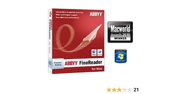 Buy Abbyy Finereader 8 Express Edition Mac