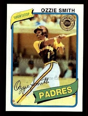 2003 Topps Shoebox # 73 Ozzie Smith San Diego Padres (Baseball Card) Dean's Cards 8 - NM/MT ()
