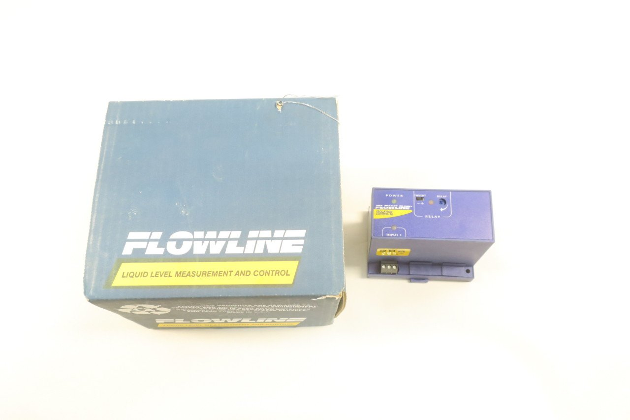 NEW FLOWLINE LC90-1001 30MA MAX ISOLATION LEVEL CONTROLLER D582268