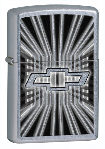 (Zippo Street Chrome Chevy Lighter)
