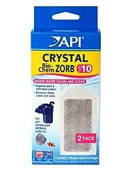 API CRYSTAL BIO-CHEM ZORB SIZE 10 Aquarium Filtration Media C...
