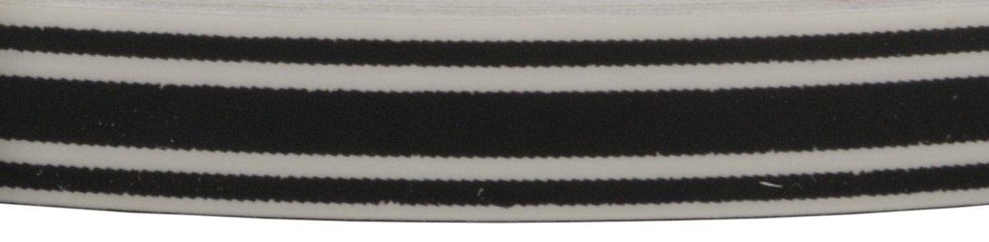 Sharpline 83006-055 MicroFlare Auto Accent Stripe Printed Black on clear 5//16 X 150