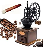 Lilizhou Manual Coffee Grinder With Grind Settings and Catch...