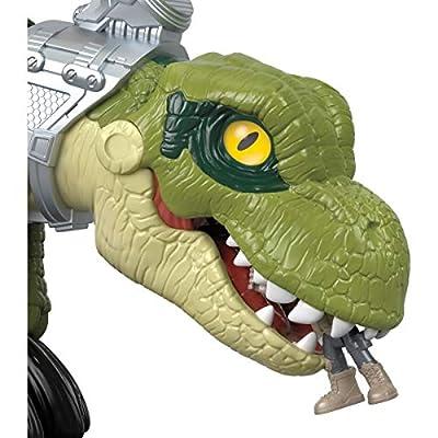 Imaginext Fisher-Price Jurassic World Mega Mouth T.rex: Toys & Games