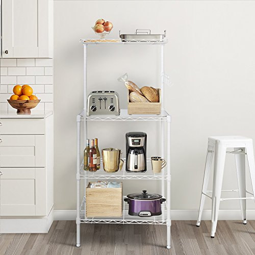 Review Lifewit 4-Tier Bakers Rack,