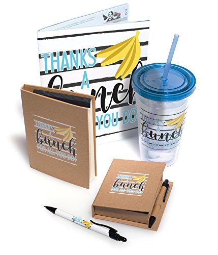 Employee Appreciation Thanks A Bunch For All You Do 5 Piece Gift Set -