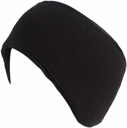 QKURT 2PCS Bandeau de Sport,Cache Oreilles Femme Bandeau Cheveux Sport Hiver Bandeau Cache-Oreilles pour Courir /à Pied