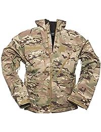 Mil-Tec Men's Softshell Jacket SCU 14 Multitarn