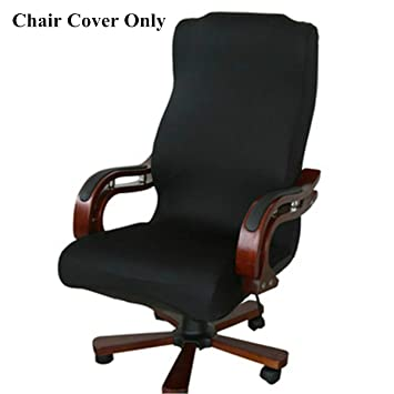 amazon large black caveen office chair cover computer chair