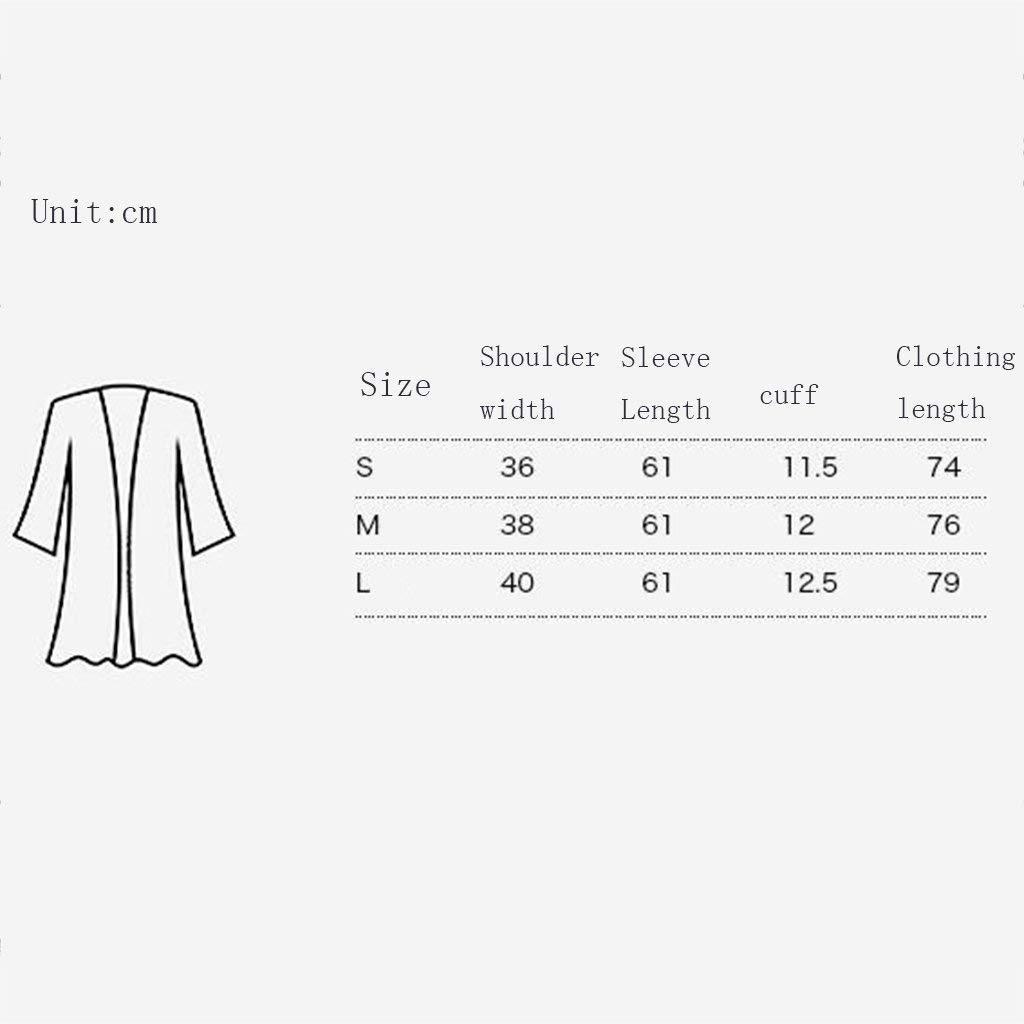 SYN Pijamas de casa damas, Traje de pijama, algodón con bolsillos albornoz, hembra negro Otoño e invierno de fibra de poliéster Pijama corto de manga larga ...