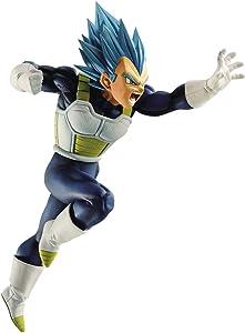 Banpresto 35833 Dragon Ball Super SSGSS Vegeta Z-Battle Figure,Multicolor