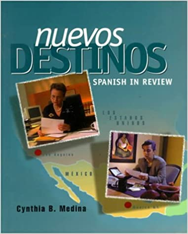 Amazon nuevos destinos spanish in review student edition nuevos destinos spanish in review student edition 1st edition fandeluxe