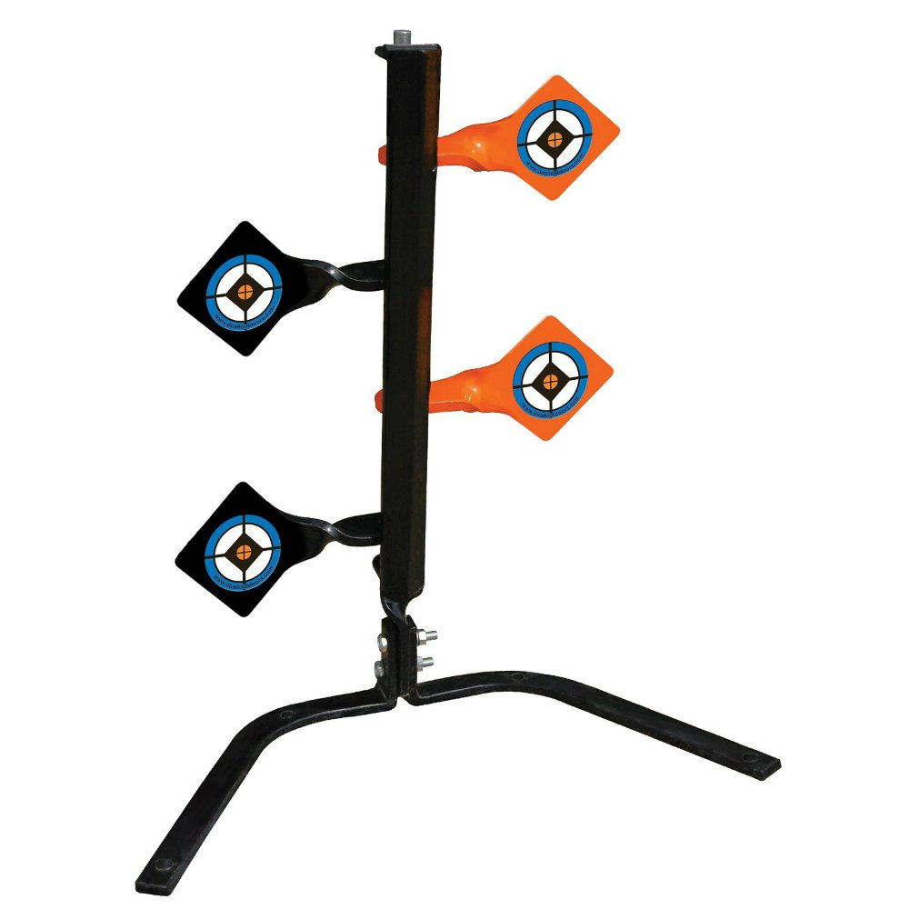 Do-All Outdoors Steel Dueling Tree Auto Resetting Shooting Target Rated for 9mm .30-06 Caliber