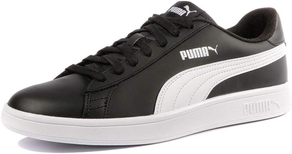 PUMA Smash V2 Leather Baskets Basses Mixte Adulte