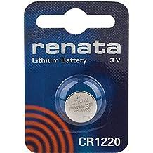 1 x Renata 1220 Watch Batteries, 3V Lithium CR1220