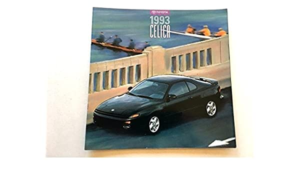 Amazon.com: 1993 Toyota Celica 26-page Sales Brochure Catalog All-Trac Convertible GT Turbo: Everything Else