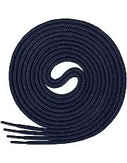 Di Ficchiano Runda skosnören, rundsnören av 100 % bomull, rivfast, ø 3–4 mm, längder 45–200 cm