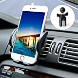 M-Better Universal Car Air Vent Mount for 1.9 - 3.7 Inch wide Smartphones and Electronic devices - Stylish Black