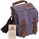 Camera Bag Vintage Canvas Shoulder Shockproof Messenger Bag SLR/DSLR