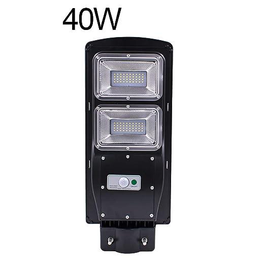 Amazon.com: DDlmax - Luces solares de 40 W con sensor de ...