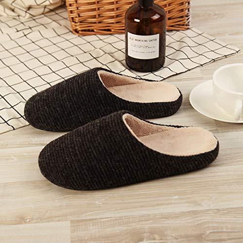 43 44 Pantofole Di Pacchetto Per Casa Pianura 45 Con Cotone Inverno Metà 42 Adatto Caldo RRqO7