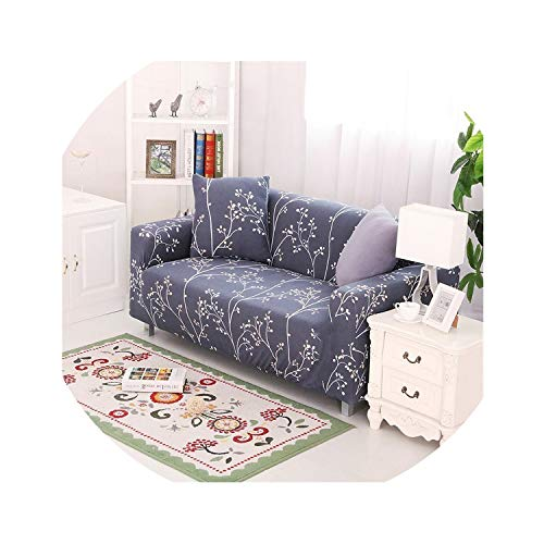 Clayton M Bracewell Elegant Elastic Couch Sofa Cover Armchair Slipcover for Living Room 1/2/3/4 Seat Home Decor 4545Cm Cushion Cover,Moldel 23,4 Seat (235-300Cm)