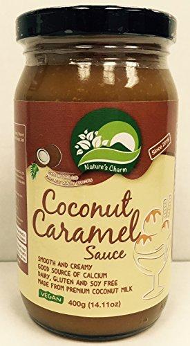 Nature's Charm Coconut Sauce Vegan and Gluten Free (Caramel) -