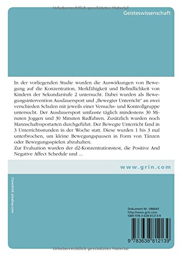 Bewegung lernen doktorarbeit dissertation importance photosynthesis