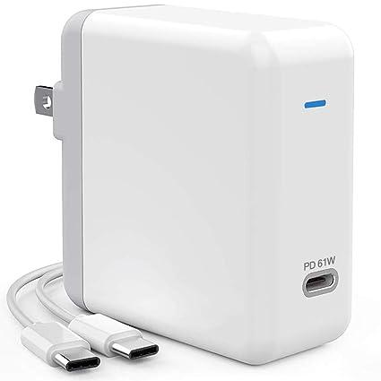 Amazon.com: 61 W Tipo C con fuente de alimentación adaptador ...