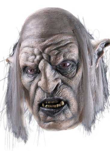 Orc Overseer Mask Adult Lord of the Ring (Orc Costume Lotr)