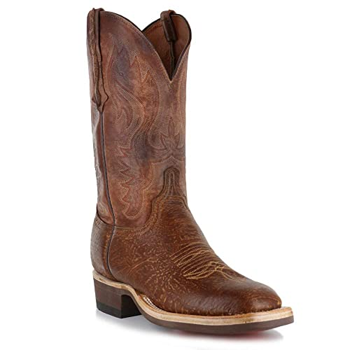 fcf36685277 Amazon.com | Men's Lucchese Bison Pearwood Crepe Sole Boot (11 ...