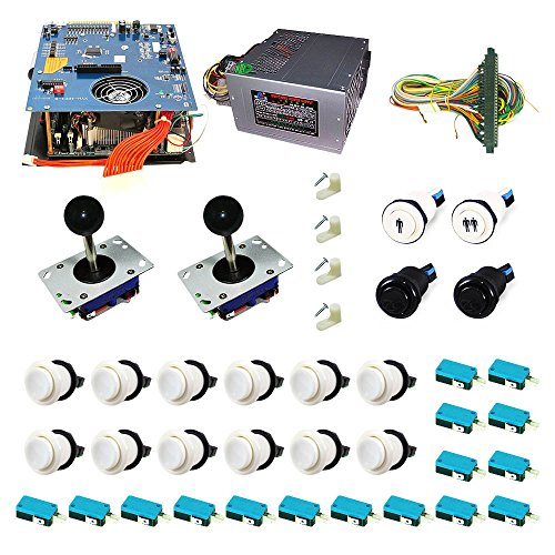 DIY Arcade 2100 Games 2 Player FULL JAMMA Starter Arcade ...
