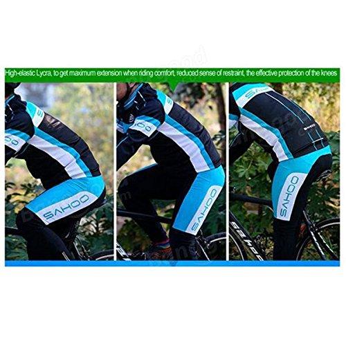 Bazaar Sahoo vélo d'hiver vélo de vélo maillot maillot de cyclage thermique des vêtements