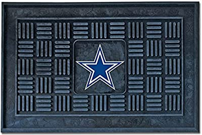 Fanmats Dallas Cowboys Medallion Door Mat