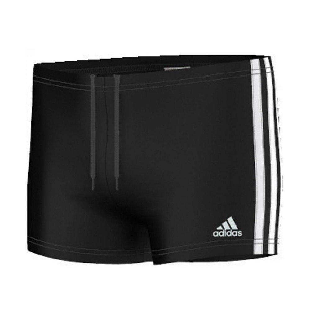 9c2b1fca6fe52 Adidas - I 3s boxer bain noir jr - Maillot de bain boxer - Noir - Taille  9à10A  Amazon.fr  Sports et Loisirs