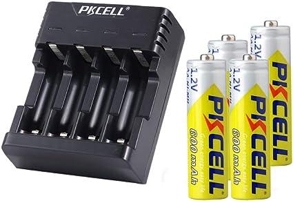 Amazon Com Hiquick Aa Rechargeable Batteries 2800mah High Capacity Performance 16 Pcs Rechargeable Aa Battery Electronics