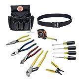 Klein Tools 92003 Electrician Tool Kit, 12-Piece