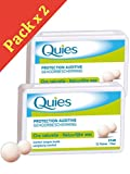 quies wax ear plugs - Quies Boules Natural Wax Earplugs Pack 2 x 12 Pairs of Earplugs