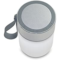 Future Modern Sonar Light, Outdoor LED Bluetooth Lantern Speaker With SOS Warning Light And Power Bank Weatherproof