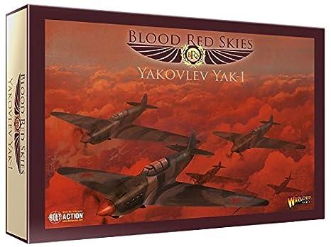Amazon com: Blood Red Skies Yakolev Yak-1 Squadron 1:200