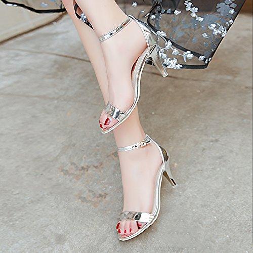 Colore Inception Donna Argento Tacco Scarpe Infinite Sandali 074 Lucidi PHW Pro da Alto r0X0q4Ow