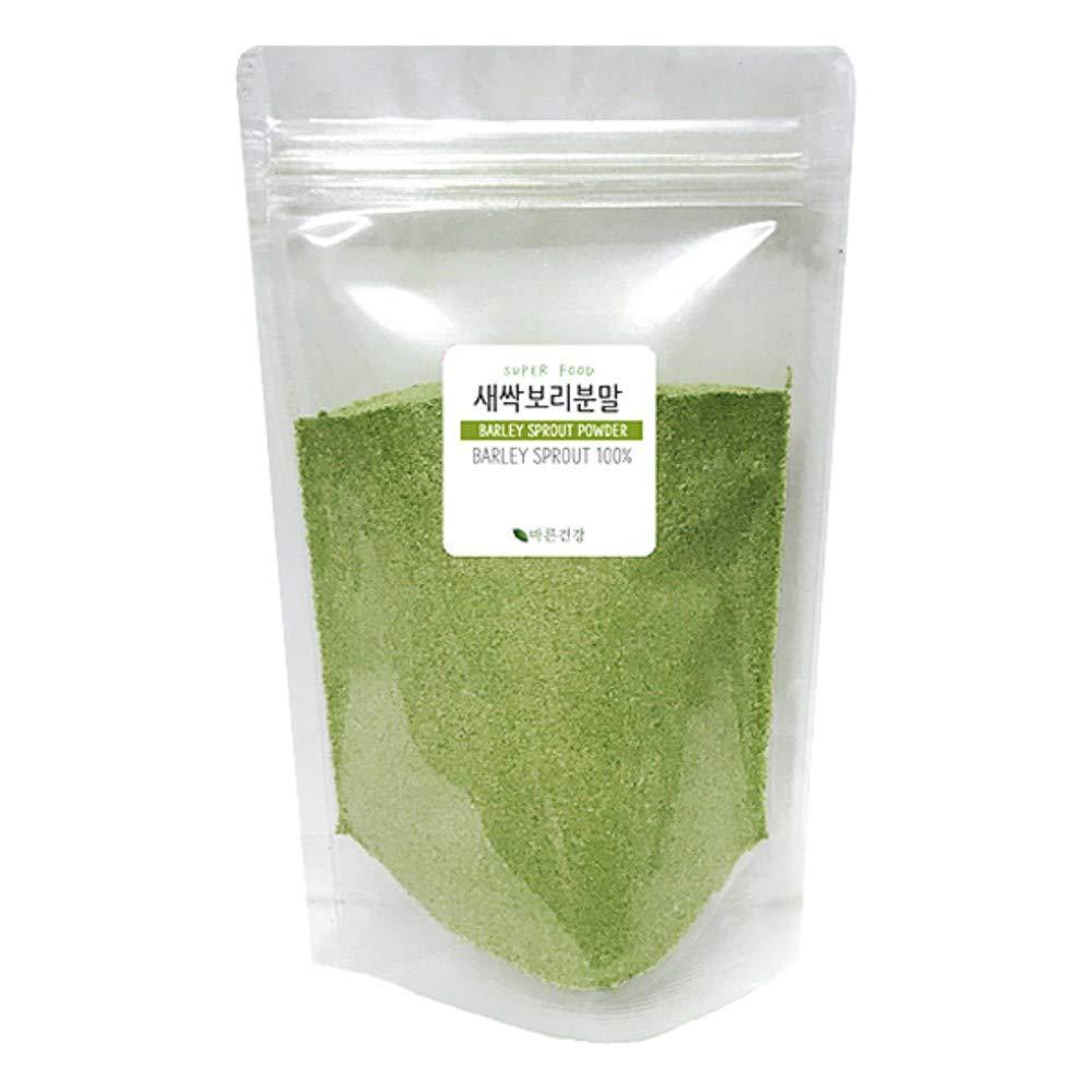 Barley Grass Sprout Powder 100% 300g, Product of Jeju, Korea 새싹 보리 by Bereun Geongang